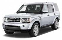 2010 Land Rover LR4 4WD 4-door V8 Angular Front Exterior View