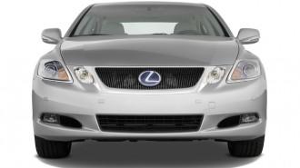 2010 Lexus GS 450h 4-door Sedan Hybrid Front Exterior View