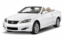 2010 Lexus IS 250C 2-door Convertible Auto Angular Front Exterior View