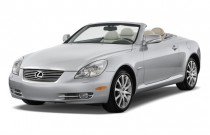 2010 Lexus SC 430 2-door Convertible Angular Front Exterior View