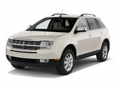 2010 Lincoln MKX AWD 4-door Angular Front Exterior View