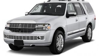 2010 Lincoln Navigator 2WD 4-door Angular Front Exterior View