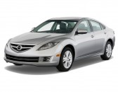2010 Mazda MAZDA6 4-door Sedan Auto i Grand Touring Angular Front Exterior View