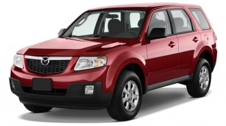 2010 Mazda Tribute FWD I4 Auto Sport Angular Front Exterior View