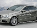2010 Mercedes Benz E-Class Coupe rendering
