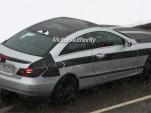 2010 Mercedes Benz E-Class Coupe spy shots