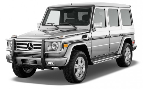 2010 Mercedes-Benz G Class 4MATIC 4-door 5.5L Angular Front Exterior View