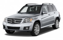 2010 Mercedes-Benz GLK Class RWD 4-door Angular Front Exterior View