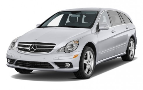 2010 Mercedes-Benz R Class 4MATIC 4-door 3.5L Angular Front Exterior View