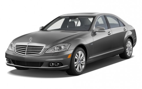 2010 Mercedes-Benz S Class 4-door Sedan 3.5L V6 Hybrid RWD Angular Front Exterior View