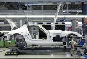 2010 Mercedes-Benz SLS AMG production