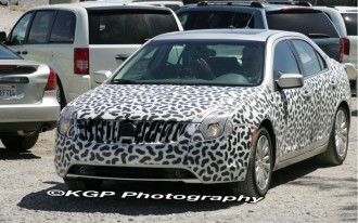 Spy Shots: 2010 Mercury Milan
