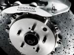 2010 Nissan GT-R SpecV carbon ceramic brake disc