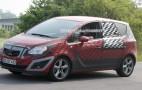 Spy shots: 2010 Opel Meriva MPV