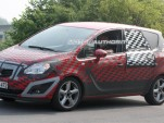 2010 Opel Meriva spy shots