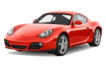 2010 Porsche Cayman 2-door Coupe Angular Front Exterior View