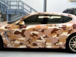 2010 Porsche Panamera Turbo in desert camouflage, from CrankAndPiston.com