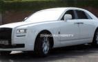 Spy shots: 2010 Rolls-Royce Ghost in white