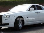 2010 Rolls Royce Ghost spy shots