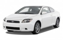 2010 Scion tC 2-door HB Man (Natl) Angular Front Exterior View