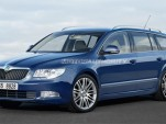 2010 Skoda Superb wagon preview