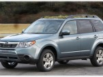 2010 Subaru Forester with green-roof option