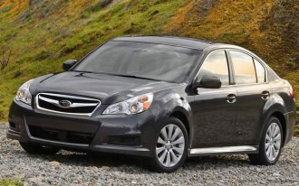 2010 Subaru Legacy Gets Best-In-Class Fuel Economy