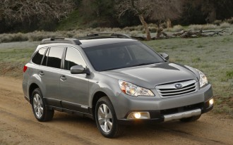Subaru Recalls 2010 Outback And Legacy