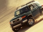 2010 Toyota FJ Cruiser in Army Green