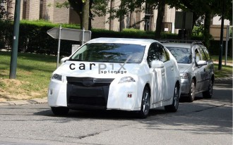 2010 Toyota Prius Spied!