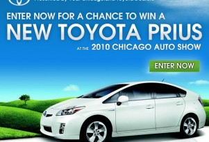 Toyota Dealers to Give Away 2010 Prius at Chicago Auto Show