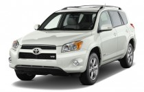 2010 Toyota RAV4 FWD 4-door V6 5-Spd AT Ltd (Natl) Angular Front Exterior View