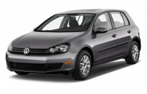 2010 Volkswagen Golf 4-door HB Auto Angular Front Exterior View