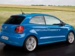 2010 Volkswagen Polo spy shot rendering