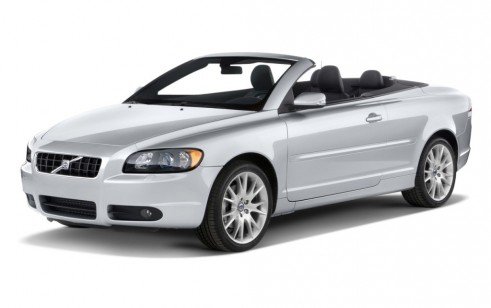 2010 Volvo C70 Vs Bmw 3 Series Volkswagen Eos The Car