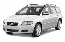 2010 Volvo V50 4-door Wagon Auto FWD Angular Front Exterior View