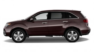 2011 Acura MDX AWD 4-door Tech Pkg Side Exterior View