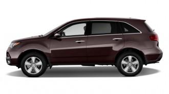 2011 Acura MDX AWD 4-door Tech Pkg Side Exterior View