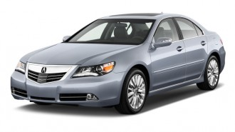 2011 Acura RL 4-door Sedan Advance Pkg Angular Front Exterior View