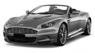 2011 Aston Martin DBS 2-door Volante Angular Front Exterior View