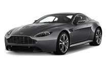 2011 Aston Martin V12 Vantage 2-door Coupe Man Angular Front Exterior View