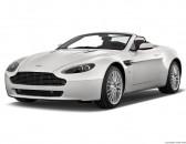 2011 Aston Martin V8 Vantage 2-door Convertible Sportshift Angular Front Exterior View