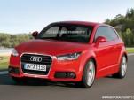 2011 Audi A1 three-door rendering