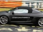 2011 Audi R8 V10 Spyder spy shot