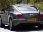 2011 Bentley Continental GT facelift spy shots