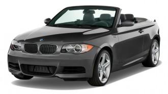 2011 BMW 1-Series 2-door Convertible 135i Angular Front Exterior View