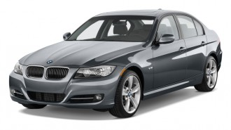 2011 BMW 3-Series 4-door Sedan 335i RWD Angular Front Exterior View