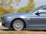 2011 BMW 5-Series Long Wheelbase sedan rendering