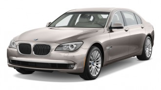 2011 BMW 7-Series 4-door Sedan 750Li RWD Angular Front Exterior View