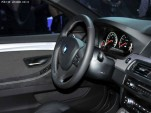 2011 BMW Concept M5 leaked interior shots